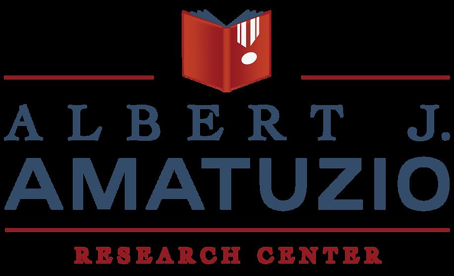 Albert J. Amatuzio Research Center Logo Design