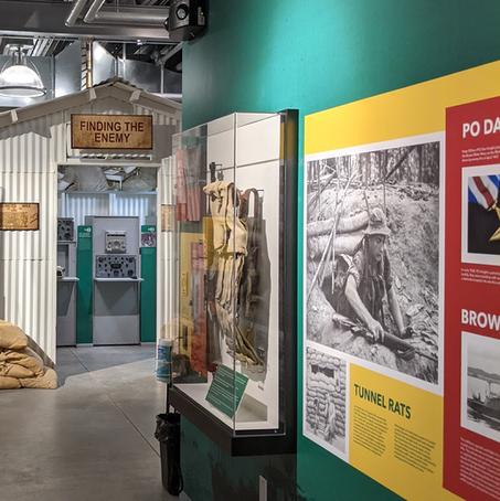 The Hooch in the Vietnam Exhibit