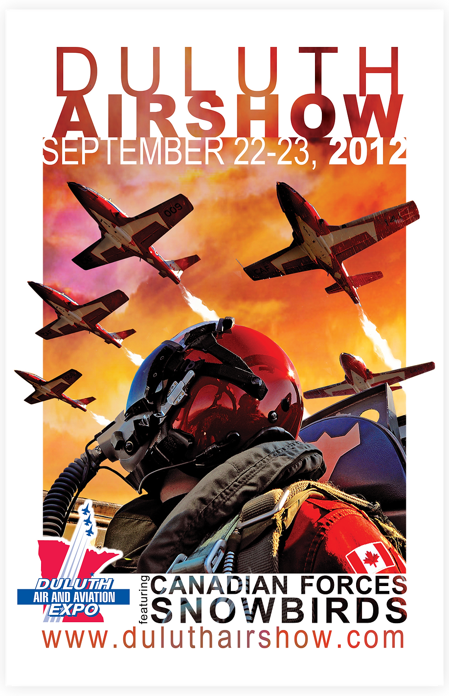 Duluth Airshow Poster Design