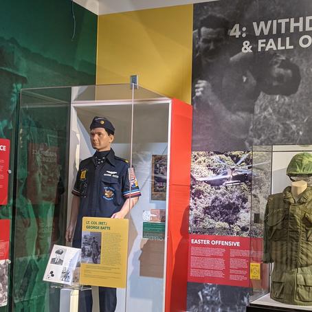 Vietnam War Exhibit Casing