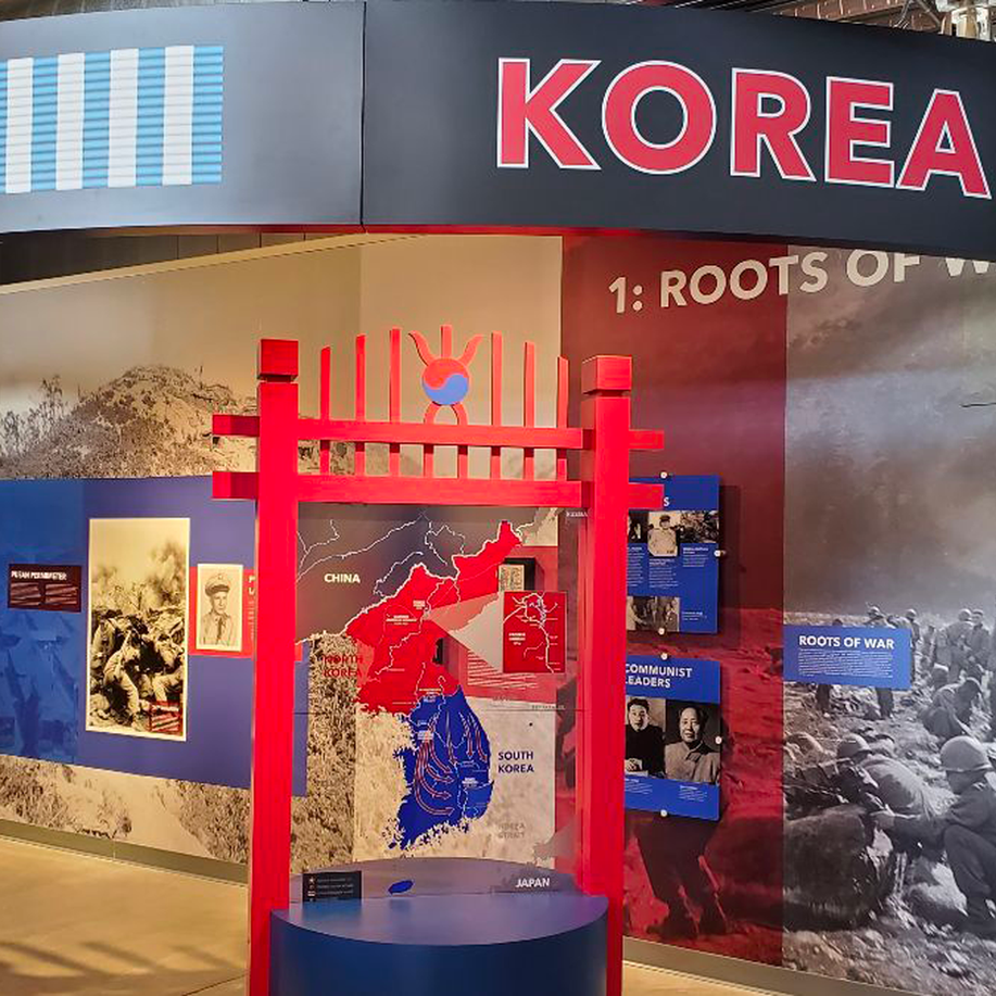 Korean War Museum Exhibit