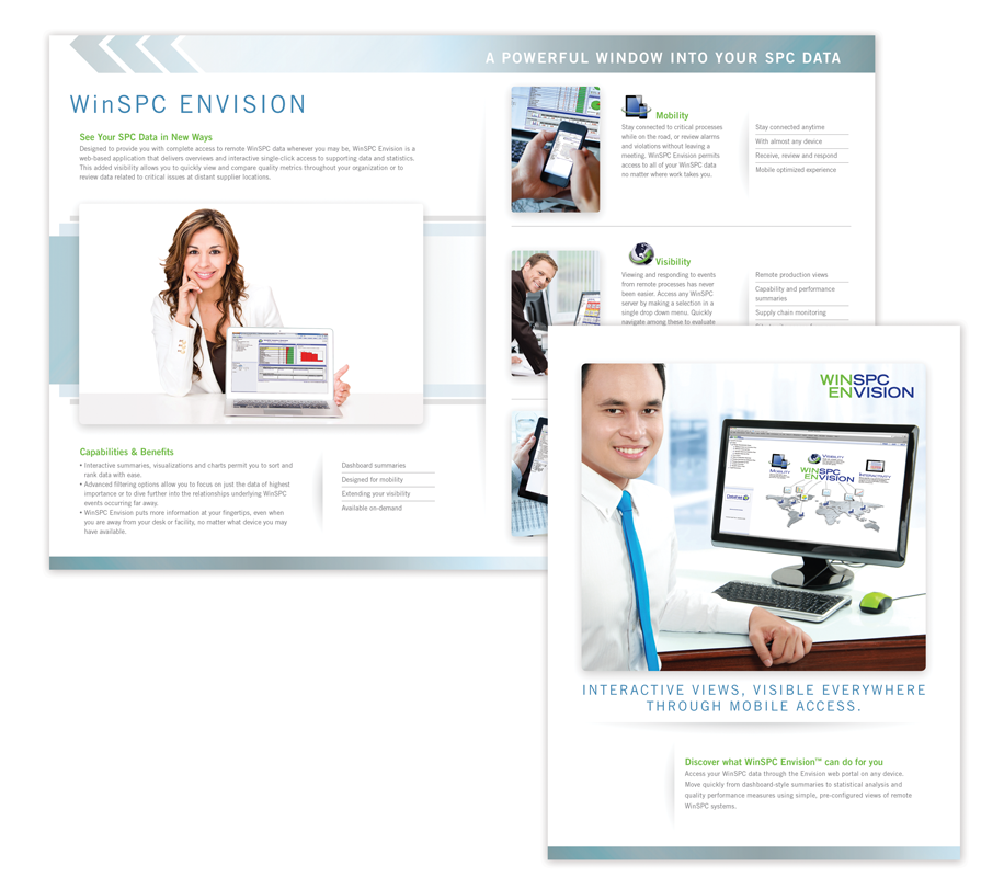 DataNet Quality Systems - WinSPC Brochure Design
