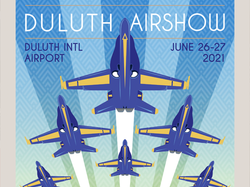 Duluth Airshow 2021 Poster