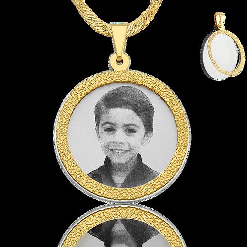 Coleção colar redondo duplo
