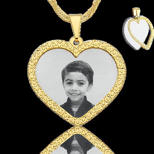 Coleção coração duplo personalizado