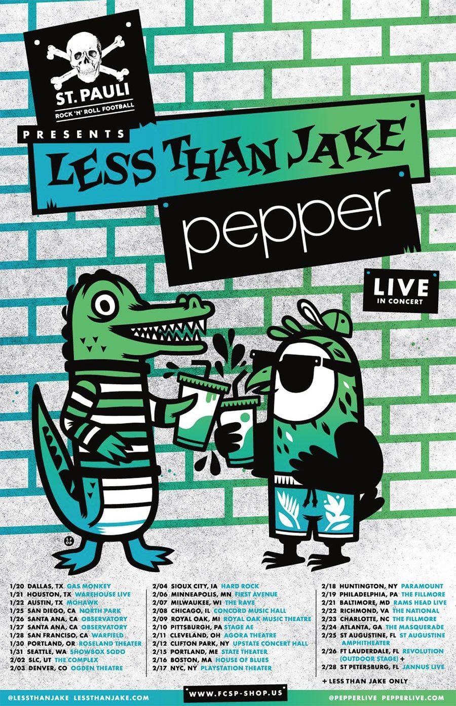 Pepper and LTJ