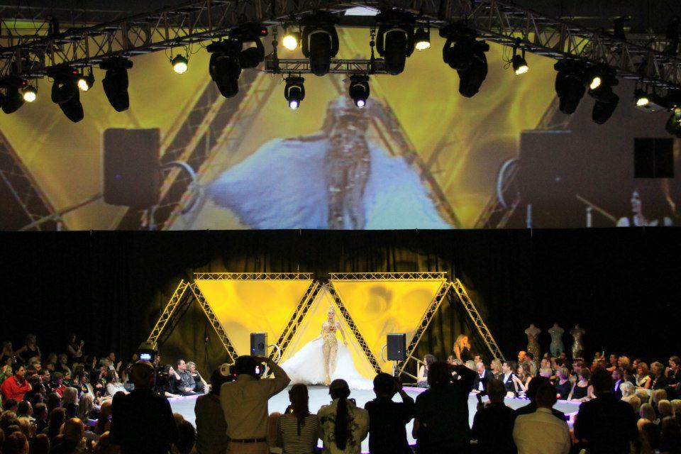 Airpark Hanger  fashion show