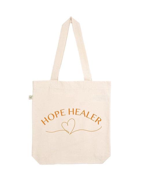 Hope Healer Organic Tote Bag