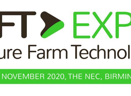 PRESS RELEASE - UKUAT partners with Future Farm Technology Expo (11-12 Nov, THE NEC, Birmingham)
