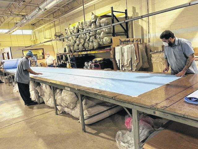 Incarcerated Individuals at the Allen Oakwood Correctional Institute in Lima are manufacturing hospital gowns in an effort to combat a nationwide shortage of personal protective equipment. The gowns being made at the Lima prison will only be used inside the walls of the state's 31 penal institutions. (CLICK TO READ ARTICLE)