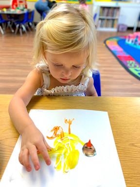 Preschool activities help children devel
