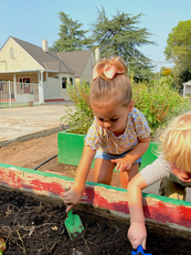 toddlers learning in our agricultural pr