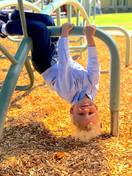 Enjoying the outside fun at Fairmont Pre