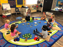 At Fairmont we teach young children musi