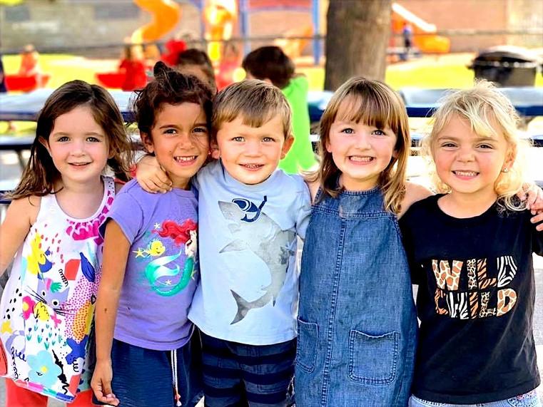 Kidergarten friends are friends for life