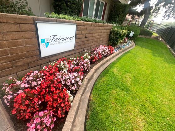 Fairmont Private School of Fresno Entran