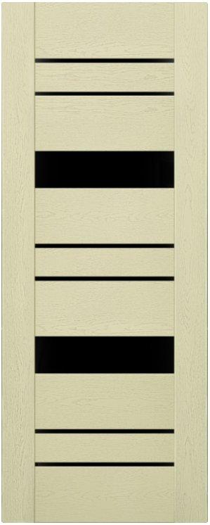 Мистраль 4 (экошпон) Ясень патина, зеркало черное