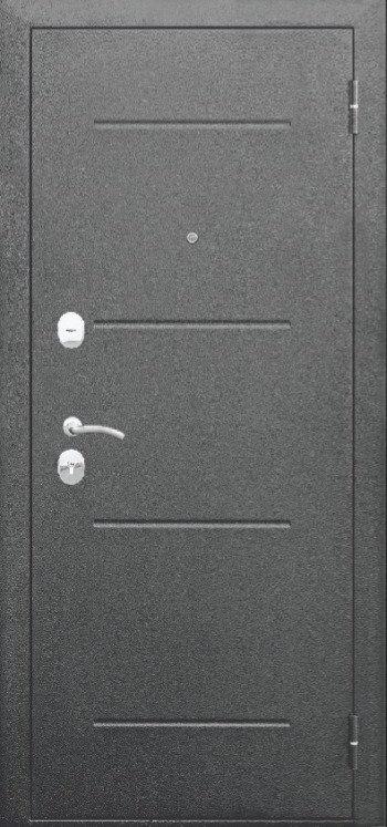Гарда 7,5 см серебро зеркало (Белый ясень, Венге)