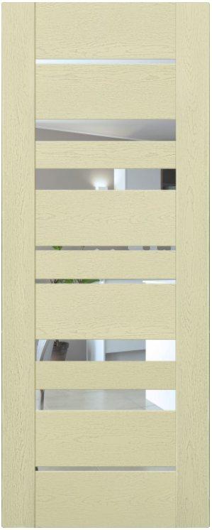 Мистраль 6 (экошпон) Ясень патина, зеркало обычное