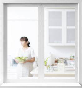простое окно