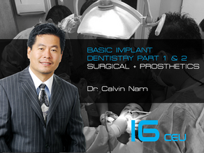 Implant 101 Beginner: Introduction to Implant Dentistry