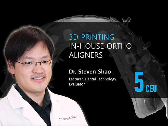 In-House Ortho Aligners : The Best Reason to Incorporate 3D Printing