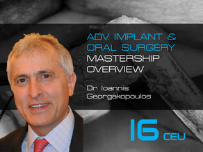 Dentistry Next Generation: 2 Day Advanced Oral Surgery & Implantology Mastership Overview