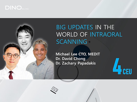 Big Updates in the World of Intraoral Scanning