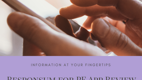 Information At Your Fingertips. Responsum for PF App Review.