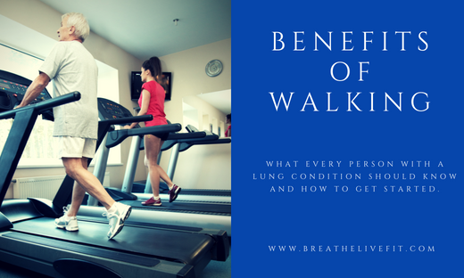 Benefits to walking when you have a lung condition. How to prevent breathlessness. How to prepare for the exercise.