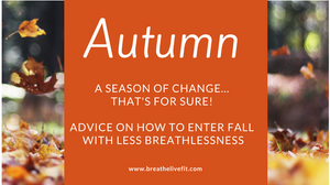managing a lung condition or diagnosis in autumn