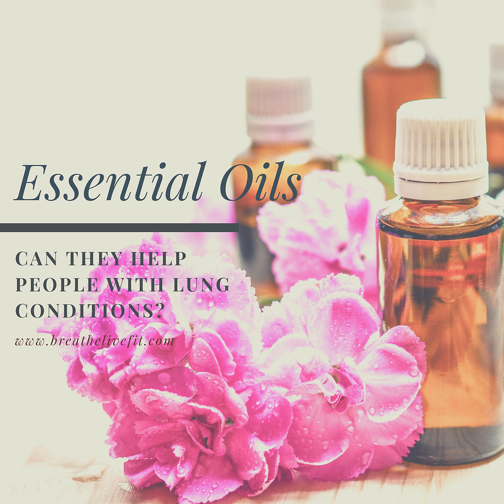 Essential oils for lung conditions. How essential oils may help you to breathe easier.