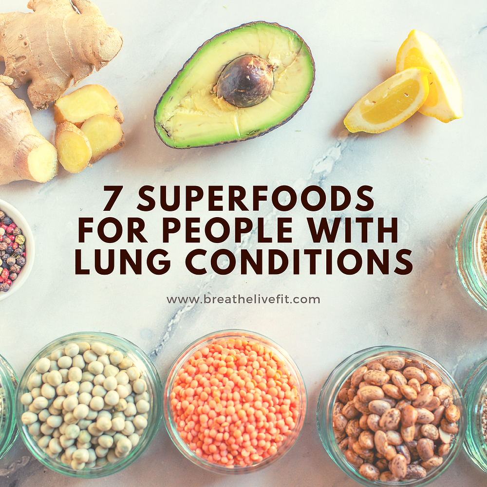 7 superfoods for people with lung conditions