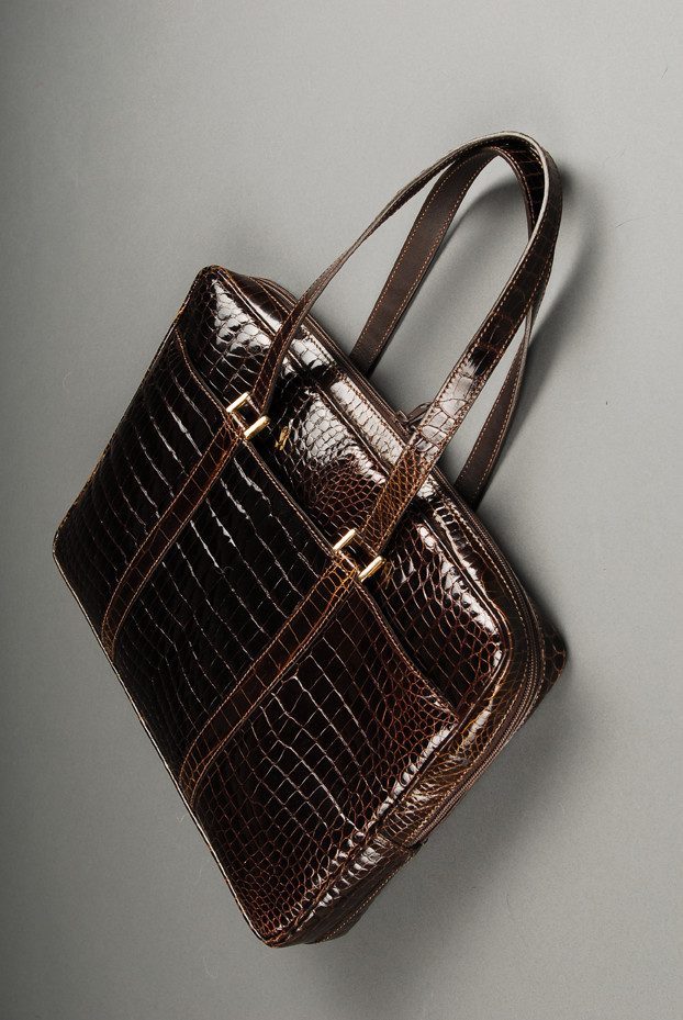 snake skin bag