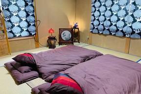 2階の寝室、和室