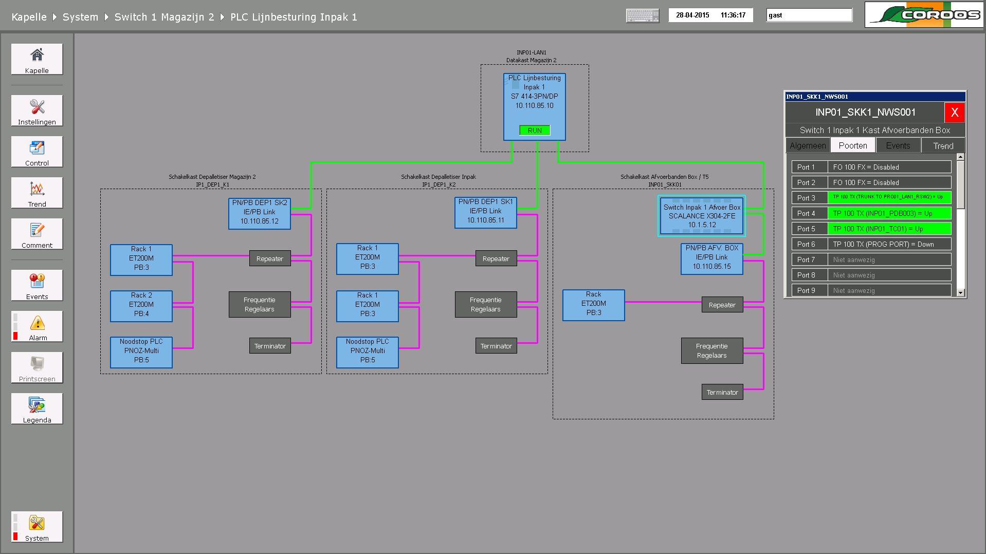 UI Systeemoverzicht