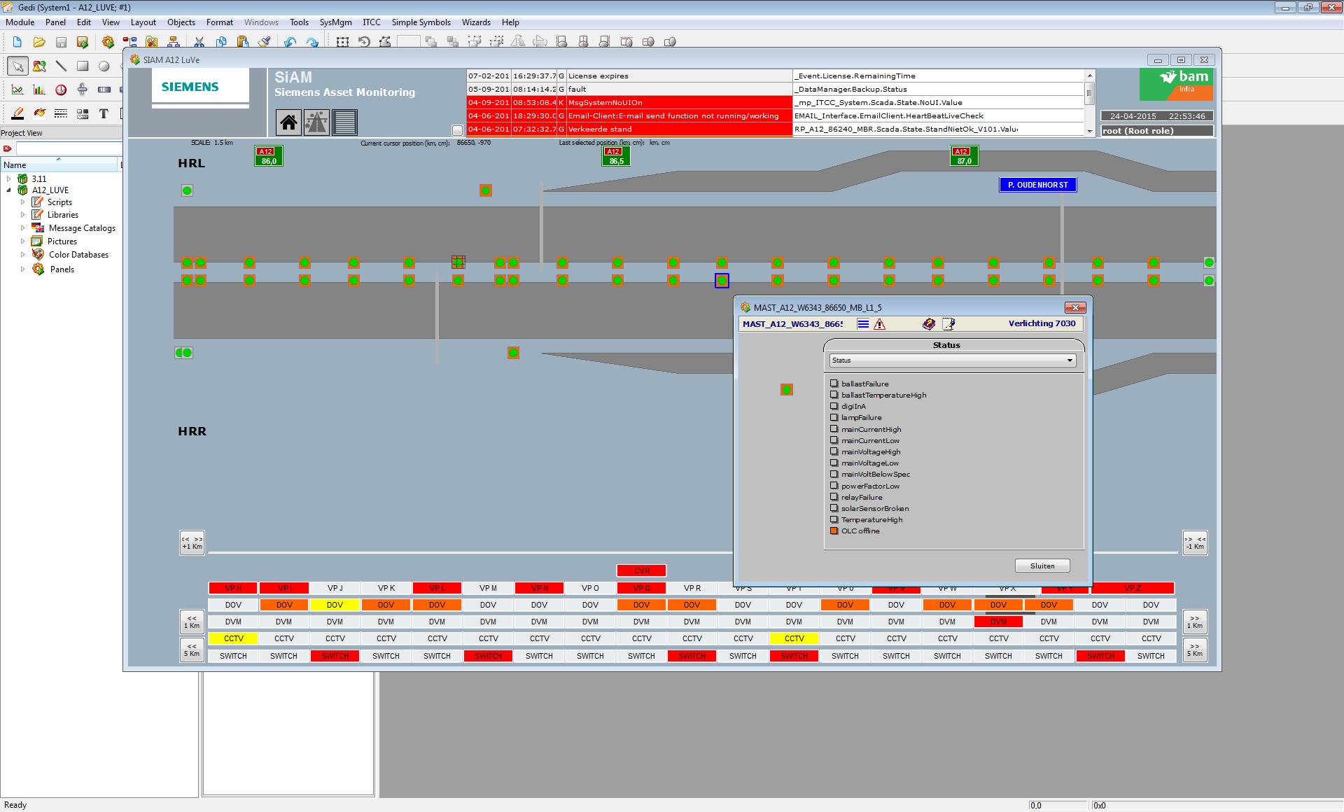 Asset Monitoring - Verlichting