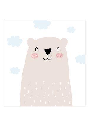 Bären Postkarte