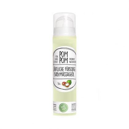 Pompom Natur Zärtliche Fürsorge Babymassageöl