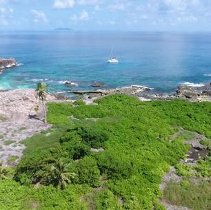 etwas abseit gelegene Insel