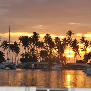 weltbekannt, Marigot Bay