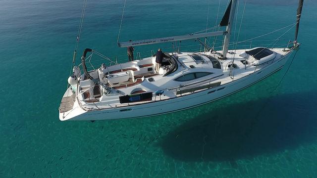 unser Flaggschiff ist diese komfortable Sun Odyssey 54 DS