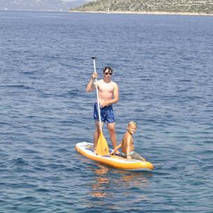 segeln und Spaß haben