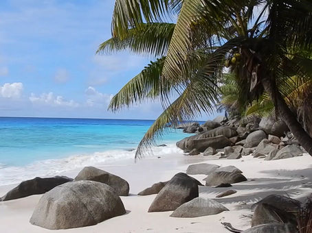 traumhafter Strand auf Insel Marianne, Region Seychellen