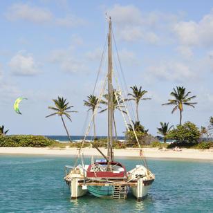 wohl eine der bekanntesten Buchten in der Karibik, segeln mit Skippytirol bringt euch auch dort hin