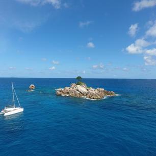 Inselchen nahe Mahe