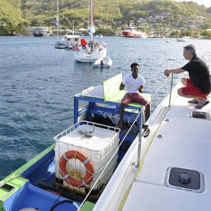 Segeltoern in Karibik