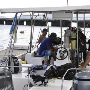 Seychellen, segeln und Tauchen