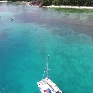 Seychellen mitsegeln am KAT