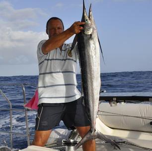 Segeltoern Karibik, fischen